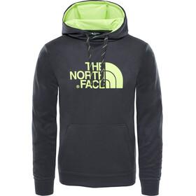 The North Face Surgent Halfdome Hoodie Men TNF Dark Grey Heather/Dayglo Yellow